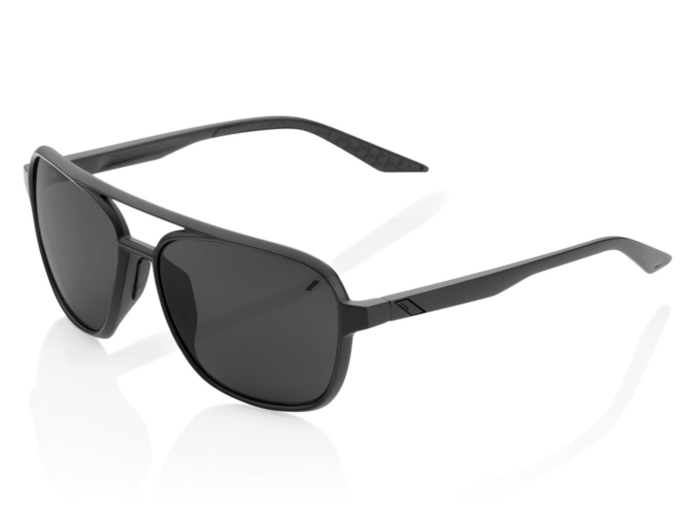 100% Kasia Aviator - Mirror Lense - matte black