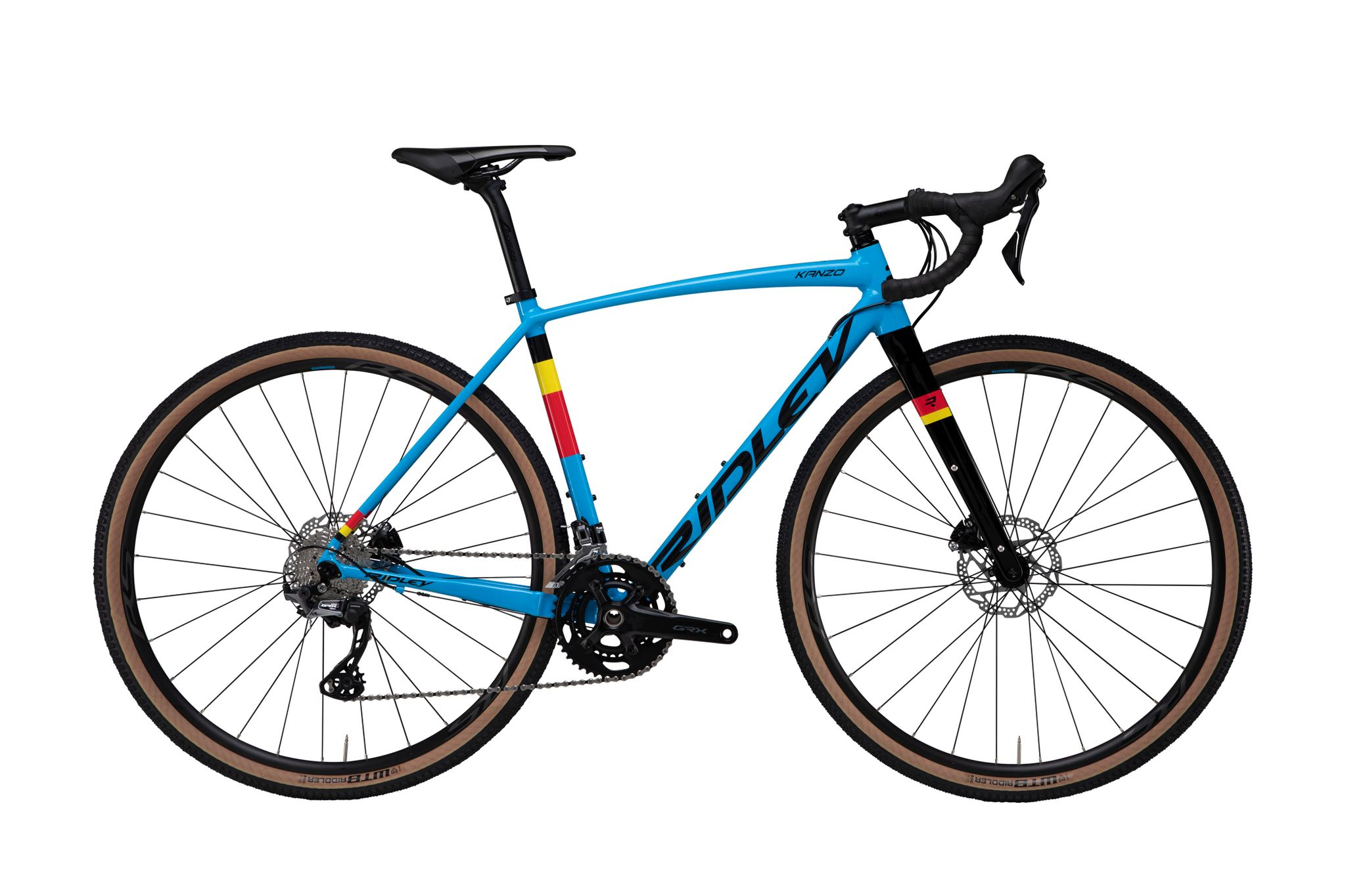 Ridley Kanzo A GRX 600 - Belgian Blue Powder Coating