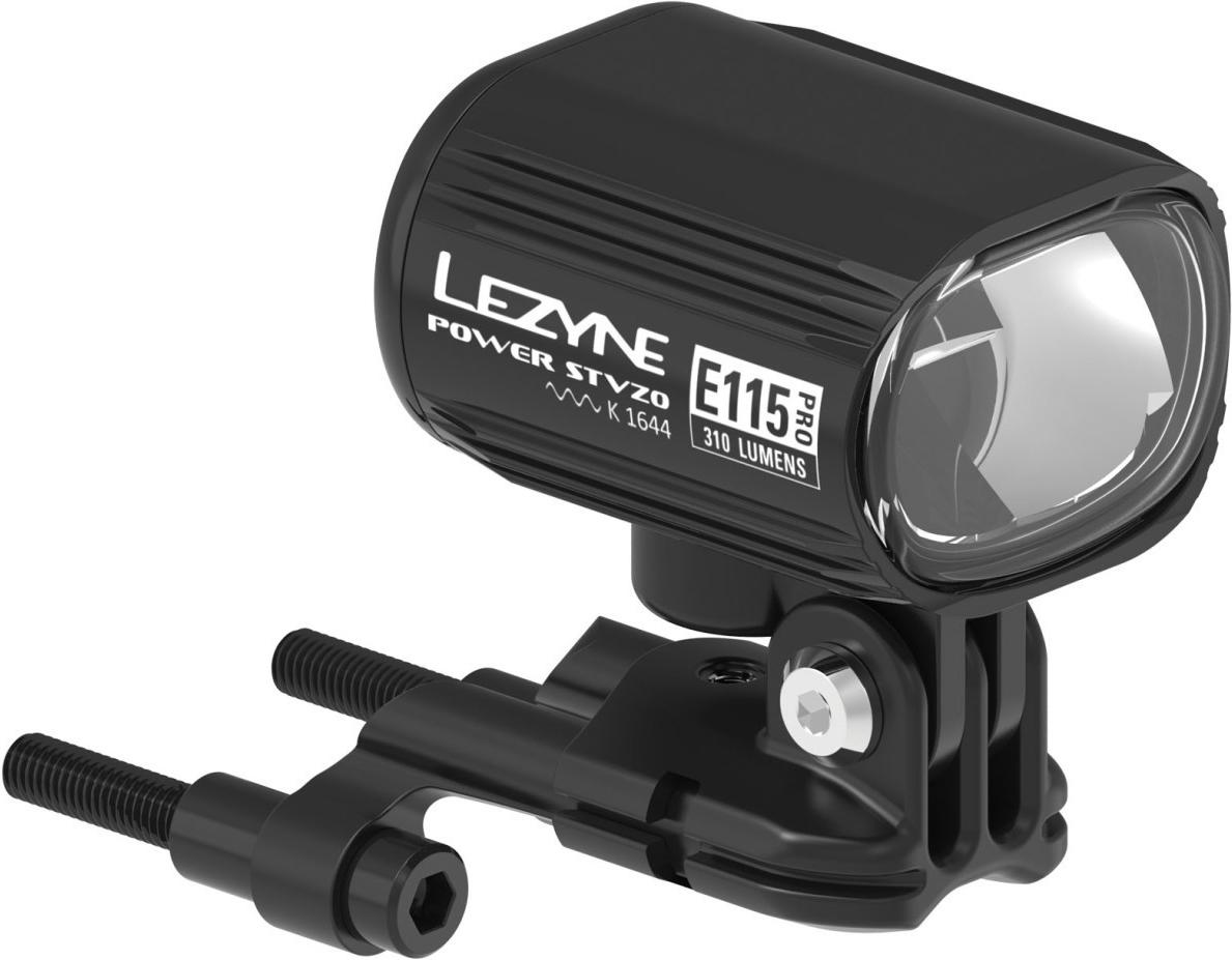 Lezyne LED Fahrradbeleuchtung Power Pro E115 StVZO Switch