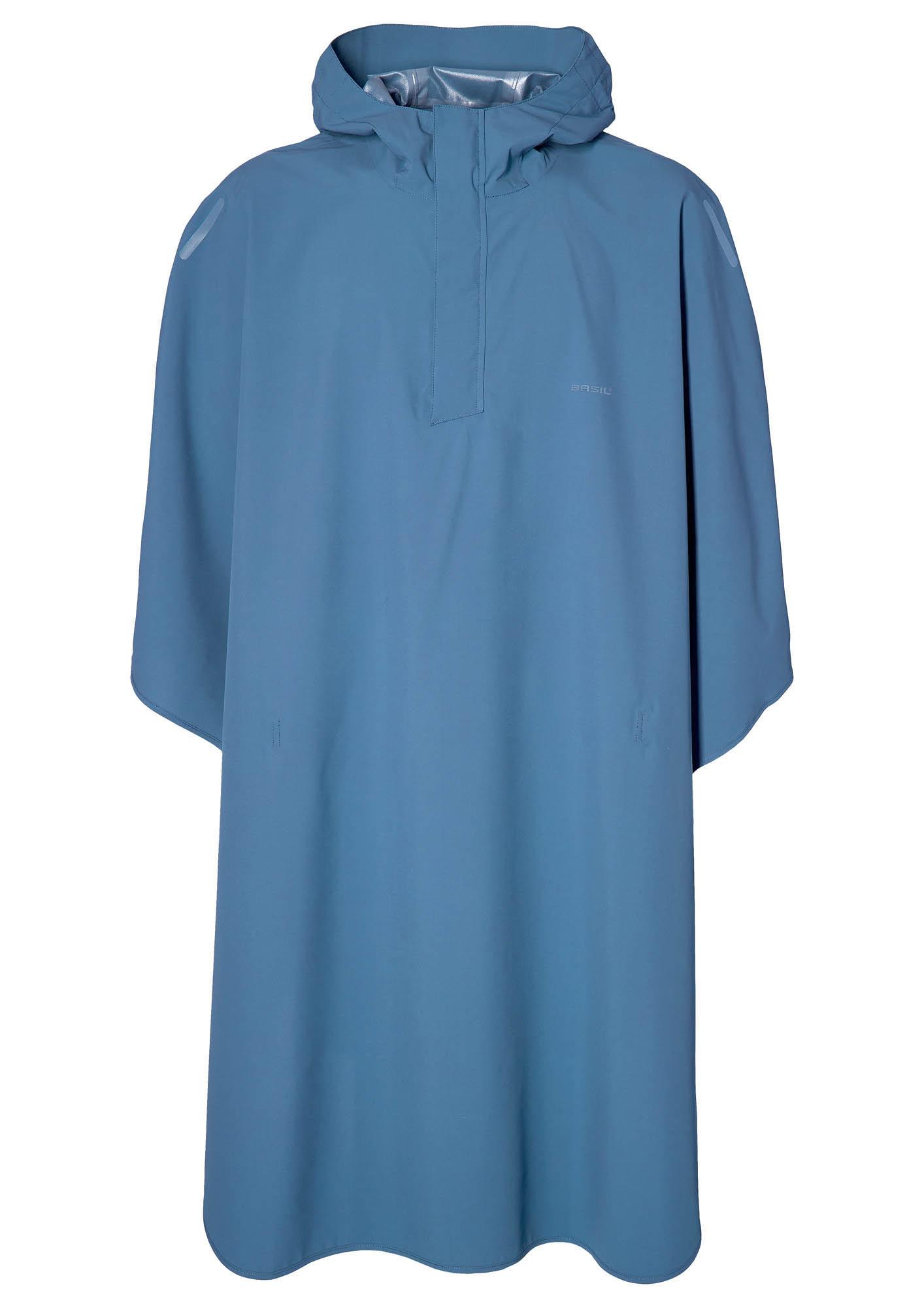Basil Hoga Regenponcho Unisex blue
